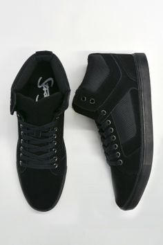 Russel hightop $79.99 available at roger david #sneakers #casualwearforhim #christmas