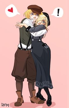 armin and annie 1920s style<<<< I also ship this sooo