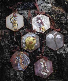 Christmas Ornaments Steampunk