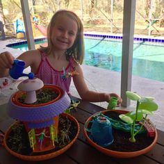 Gardening on this beautiful day ☀️🌿🌸🌱🌼 Thanks Aunt Amy! My Fairy Garden, Child Love, Growing Plants, Aunt, Beautiful Day, Gardening, Lawn And Garden, Horticulture, Square Foot Gardening