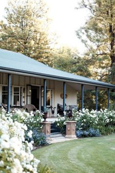 House ideas on pinterest country homes home floor plans for Australian country garden design