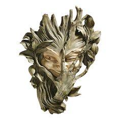 Design Toscano 9-In W X 13-In H Frameless Resin Bashful Wood Sprite Sc