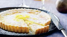 White chocolate and Lemon pie (Danish) / Tærte med hvid chokolade og citron | Femina