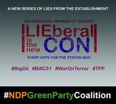 Same establishment of criminal proportions... #canpoli #exlen42 #elexn2015 #Netflix #Canada