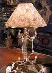 Lamp with Bit or Spurs