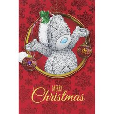 Tatty Teddy Holding Decorations Me to You Bear Christmas Card  £3.99