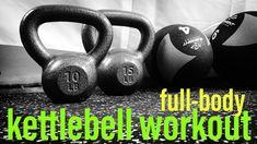 Full-Body Kettlebell Workout. Do anywhere, strength circuit.  #reneeansell #kettlebell #workout #fullbody #strength
