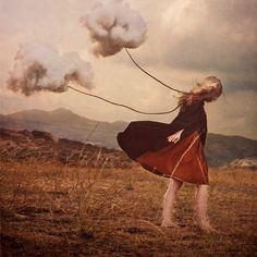 If only we could always remember to have our head on the sky…(by Brooke Shaden)