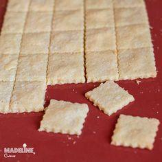 Crackers cu parmezan / Parmezan crackers