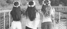 three friends...