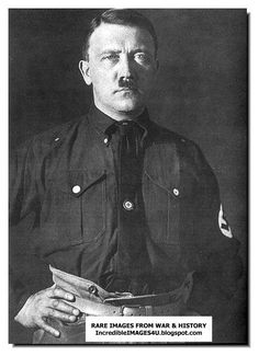 Here are some photos and paintings with Hitler doing masonic handshakes and signs. A clear masonic sign with the left hand (the two m. Short Essay, I School, World War Ii, Wwii, Germany, Humor, Image, History Pics, Faces