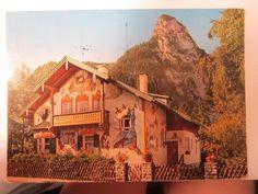 Passion Play Village Postcard Germany 1976 Vintage Card Postmarked #germanypostcard #vintage #postcards