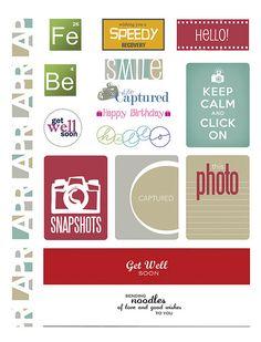Paper Crafts & Scrapbooking April 2014 Simple Printables | Paper Crafts & Scrapbooking April 2014 | Paper Crafts
