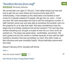 Another great review from our guests. Heated Pool, White Sand Beach, Beach Resorts, First Night, Random Stuff, How To Get