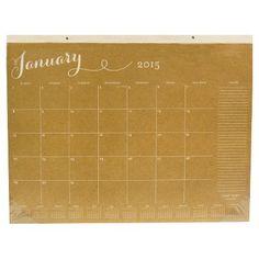 "Sugar Paper 2015 Desktop Calendar - 22""x17"""