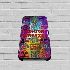 1d Midnight Memories Collage iphone case - mycovercase