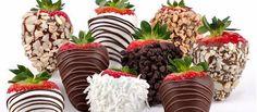 Receta: Fresas con chocolate decoradas