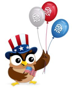 Happy Labor Day from everyone's favorite owl! #PCH #HappyLaborDay