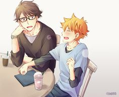 I most certainly do not ship oihina but I just find it funny how hinata is whipping
