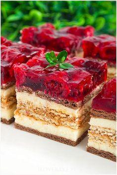 Yummy Treats, Delicious Desserts, Sweet Recipes, Cake Recipes, Sweets Cake, Dream Cake, Polish Recipes, Food Cakes, Pavlova