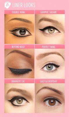 Give your lashline a little boost and try one of these liner looks! #benefitcosmetics #realfineliner: