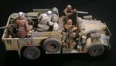 Ed' LRDG Chevy and Breda 20mm