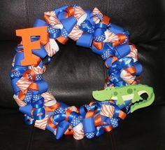 Florida Gator Wreath