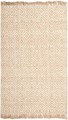 Safavieh's Natural Fiber collection is inspired by timeless contemporary sisal designs crafted with the softest jute available.This rug is crafted using a hand-woven construction with a jute pile and features main color of natural.<br><br><ul><li>Primary materials: Jute</li><li>Latex: No</li><li>Pile height: 0.25 inches</li><li>Style: Contemporary</li><li>Primary color: Natural</li><li>Pattern: Geometric</li></ul><br><b>Tip: We recommend the use of a <a…