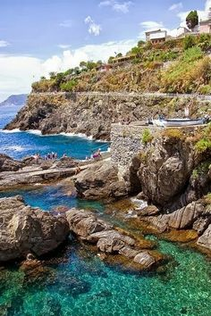 Best Places to visit in Italy -Manarola, Cinque Terre, Liguria, Italy