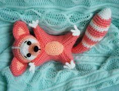 Amigurumi Raccoon - Free crochet pattern