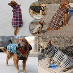 Check out the deal on this Cosy Plaid Reversible Dog Coat     Every purchase helps local pet charities    Free shipping    https://www.pawsify.com/product/cosy-plaid-reversible-dog-coat/