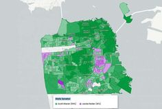 """NOV2020: Toward the center of the city, the Mission tends to vote leaning progressive, while Noe Valley and the Castro down the line you see more moderate Democrats,"""" he said. """"Outer Sunset and the Marina tend to lean more conservative sometimes."""" These maps show how San Francisco's progressive voting varies by neighborhood - SFChronicle.com"""