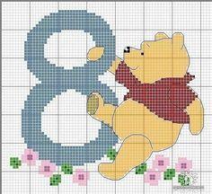 Materiales gráficos Gaby: Varias plantillas de bordados en punto cruz