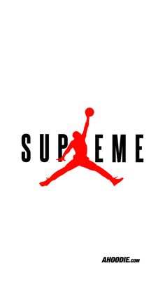 Jordan X Supreme Ahoodie iPhone 6S wallpaper