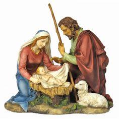 """Holy Family / Nativity Figure, 8.25"""""""