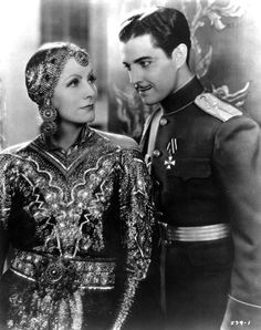 "Greta Garbo and Ramon Novarro in ""Mata Hari"" (1931)"