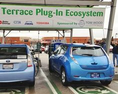 Attention shoppers: Free solar powered EV charging on Aisle 5.