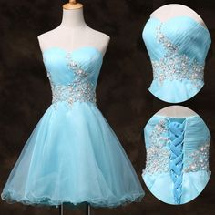 Short Prom Quinceanera Homecoming Graduation Gown Evening Party Bridesmaid Dress #GraceKarin #BallGown #Cocktail