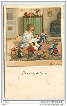 pauli ebner - with dolls