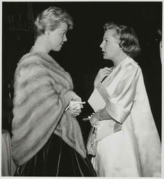 Doris Day and June Allyson