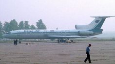 KrasAir Tupolev Tu-154B-2 Free Airplane Paper Model Download