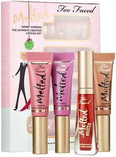 Too Faced Cosmetics Merry Kissmas The Ultimate Liquified Lipstick Set