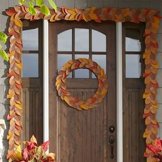 Fall Porch Decoratio