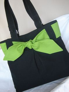 Black canvas handbag tote with interchangeable tie by I need this bag and  do you   Tote TáskaTáskák a5fb4f61bd
