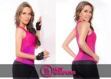 Women's Top Body Shaper Weight Loss Slimming T Shirt Hot Shapers Short Sleeveless Vest Women's Top Fitness, Basic Tank Top, Weight Loss, Slim, Tank Tops, Hot, Lady, Pink, T Shirt