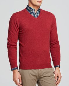 The Men's Store at Bloomingdale's Cashmere V-Neck Sweater - Bloomingdale's Exclusive