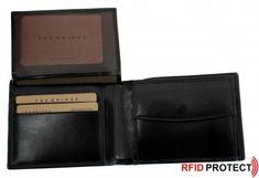 RFID-Schutz Brieftasche The Bridge schwarz Leder - Bags & The Bridge, Wallet, Bags, Pocket Wallet, Handbags, Purses, Diy Wallet, Purse, Bag