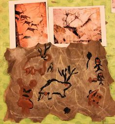 Cave Painting Art Stone Age Ks2 Display School Resources