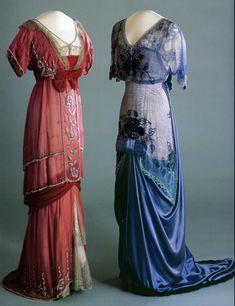 Queen Maud of Norway's evening dress