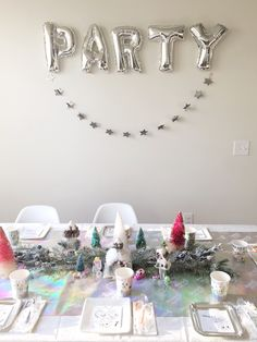 Party table from a S